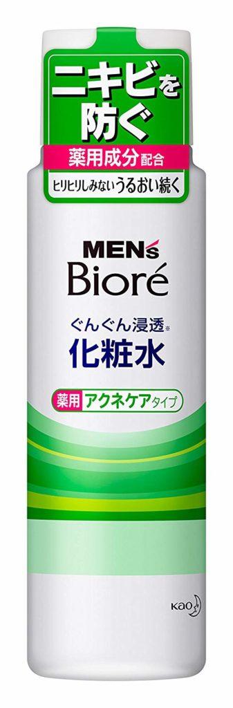 メンズビオレ  浸透化粧水  薬用アクネケアタイプ