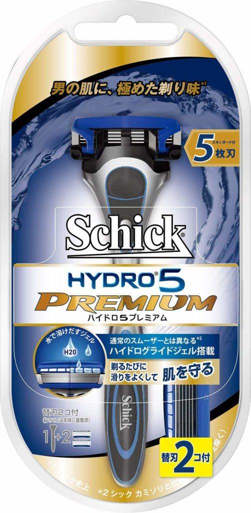 ハイドロ5プレミアム / Schick