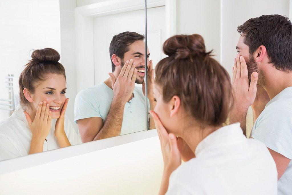 男性は女性用美顔器でも使用できます