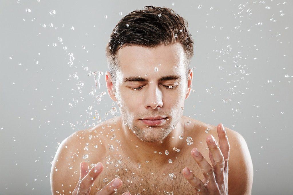 メンズオールインワン化粧品は肌を清潔な状態にしてから使用しましょう