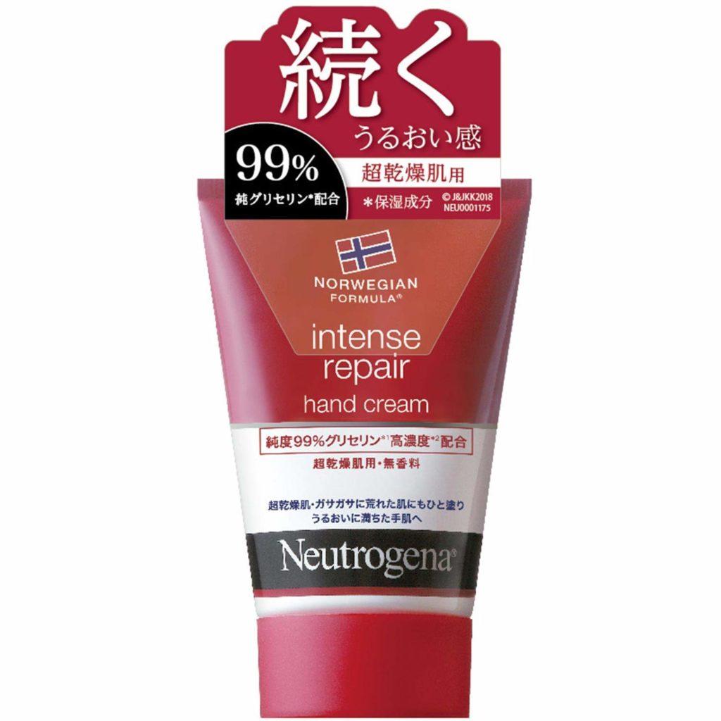 ニュートロジーナ インテンスリペア ハンドクリーム 超乾燥肌用 無香料