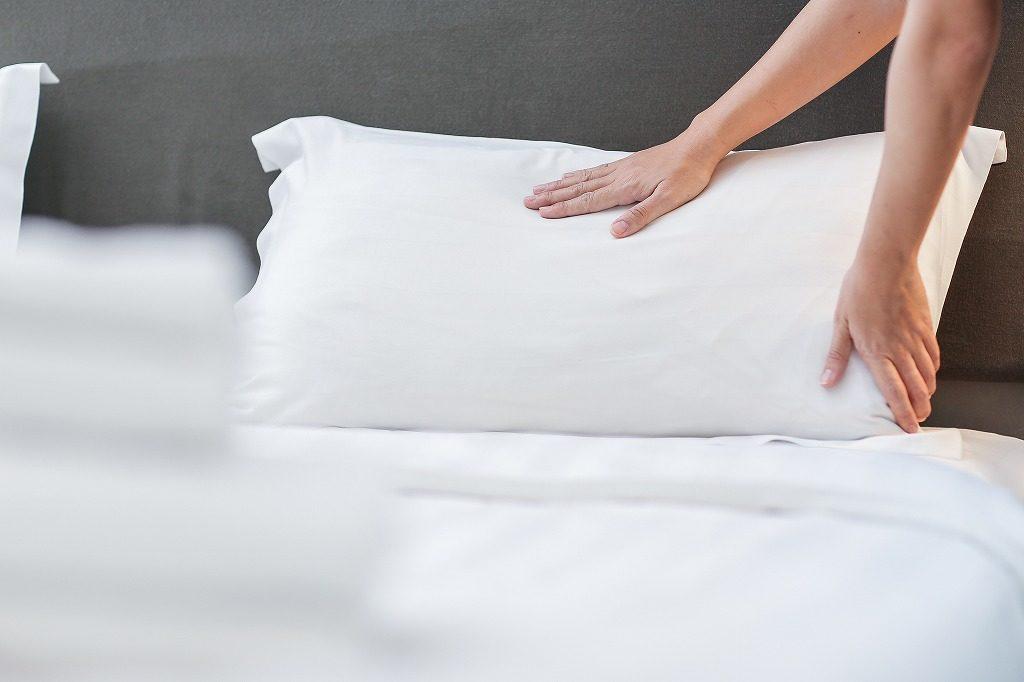 枕の硬さで選びましょう