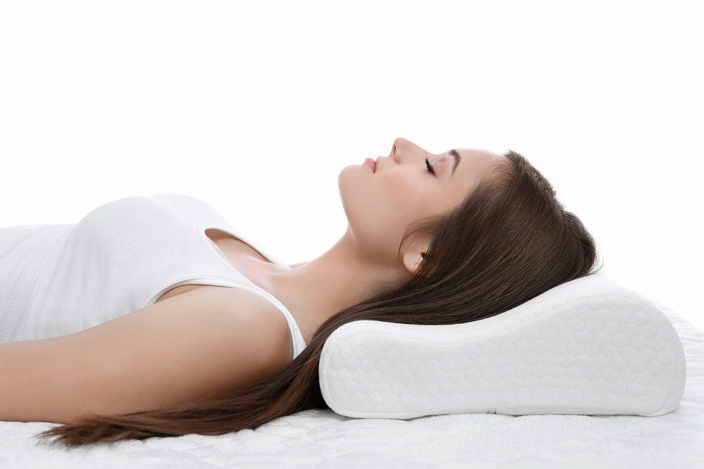 枕での理想の寝方