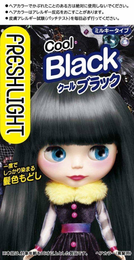 フレッシュライト ミルキー 髪色もどし クールブラック