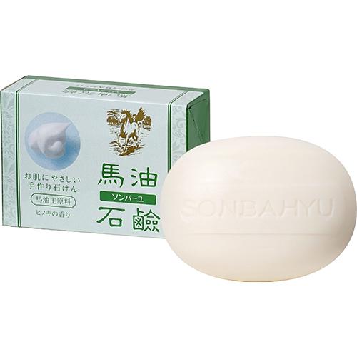 ソンバーユ 馬油石鹸【ヒノキの香り】