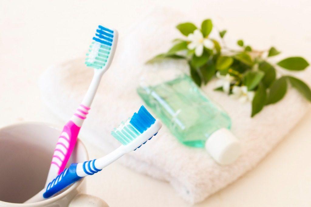 歯ブラシを新しいものに交換しましょう