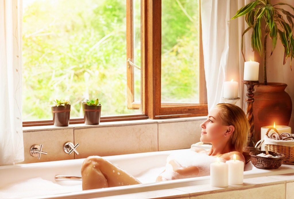 入浴剤の使用量や使用方法に注意しましょう