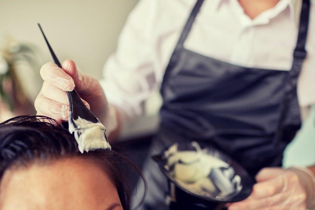市販髪染めのヘアカラーの使い方