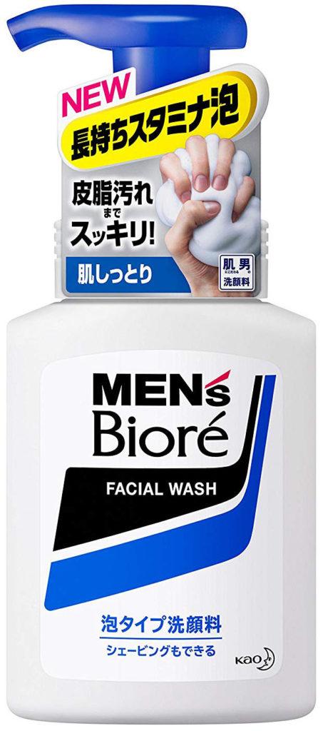 花王 メンズビオレ 泡タイプ洗顔