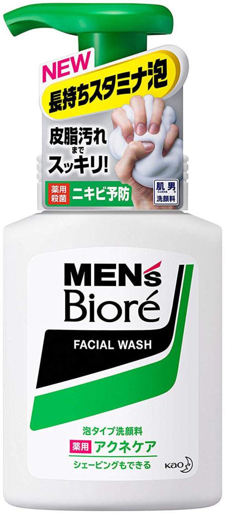 花王 泡タイプ 薬用アクネケア洗顔