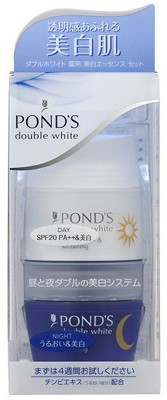 PONDS ダブルホワイト 薬用美白エッセンスセット