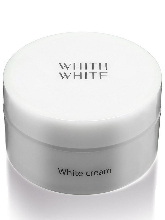 WHITH WHITE パック クリーム