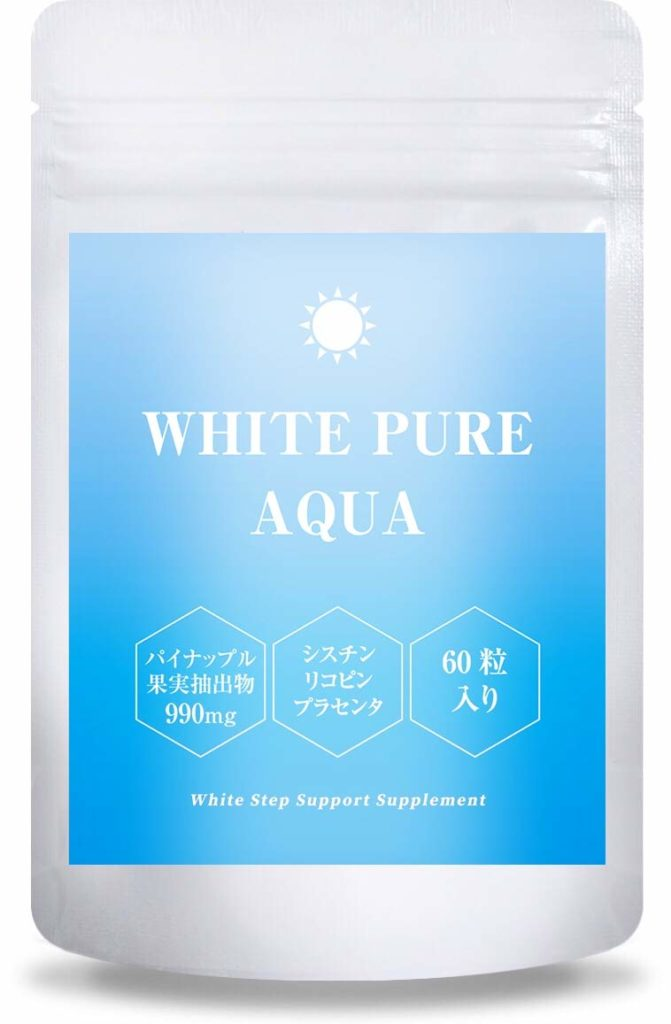 WHITE PURE AQUA