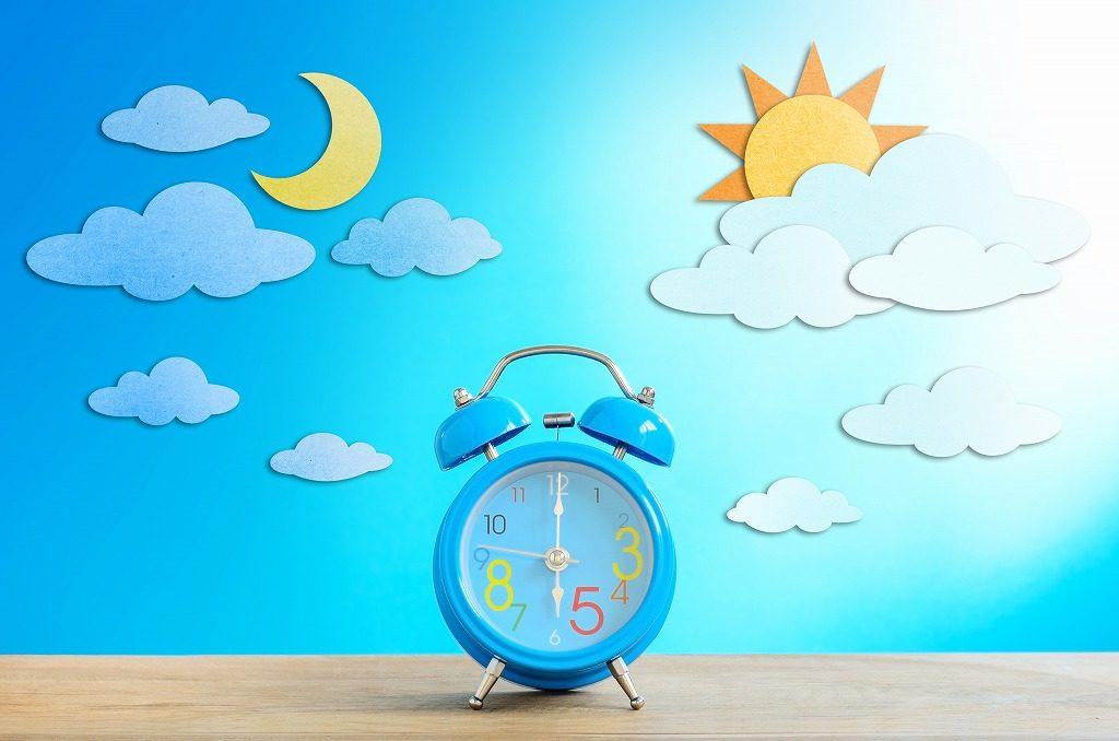 着圧ソックスは夜に昼用、昼に夜用を使用しないようにしましょう