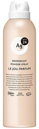 エージーデオ24 パウダースプレー(ル・ジョリパルファン)フルーティーフローラルの香り