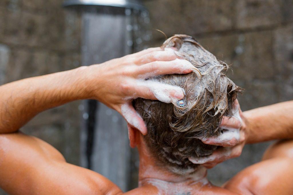 メンズシャンプーの洗い方