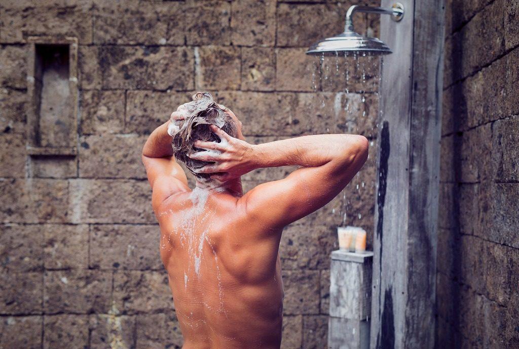 男性用フケ対策シャンプーの効果的なシャンプー方法