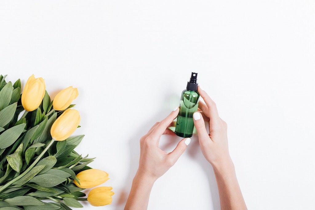 制汗スプレーは香り付きか、無香料か、で選びましょう